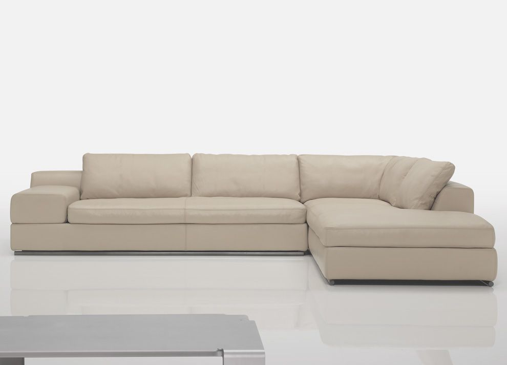 Leather Corner Sofas | Brown Leather Modern & Contemporary Corner ...