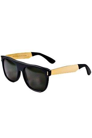RETROSUPERFUTURE: Retrosuperfuture Flat Top Sunglasses in Black/Gold Buy  Now $249.0 Find at Faearch