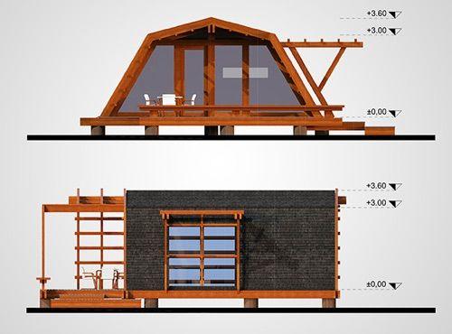 Soleta zeroEnergy, une maison écolo à moins de 50000 euros! Tiny - prix de construction maison