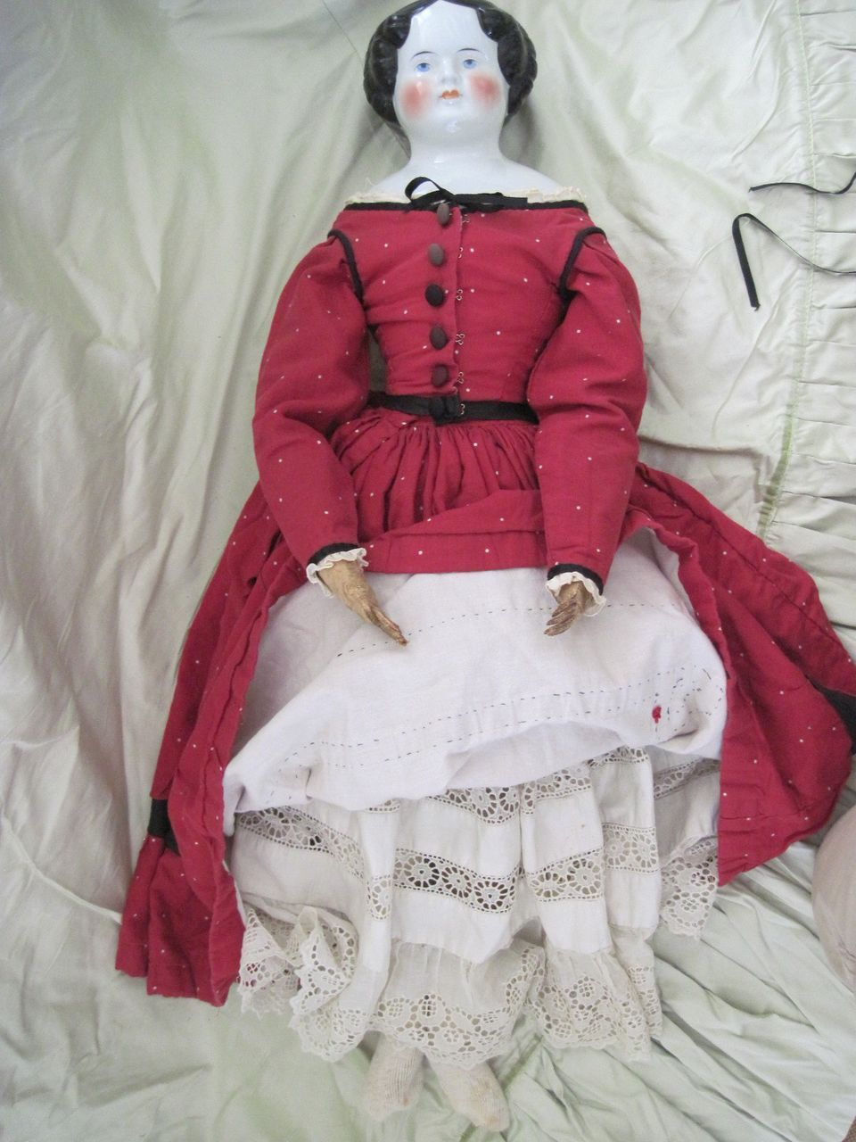 Large Lovely 30 inch, Flat top shoulder head Doll