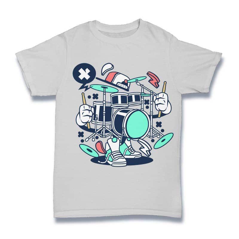 15bf78d8 Drum Set buy t shirt design | Tshirt designs | Best t shirt designs ...