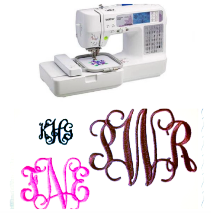 The best monogram sewing machine ideas on pinterest