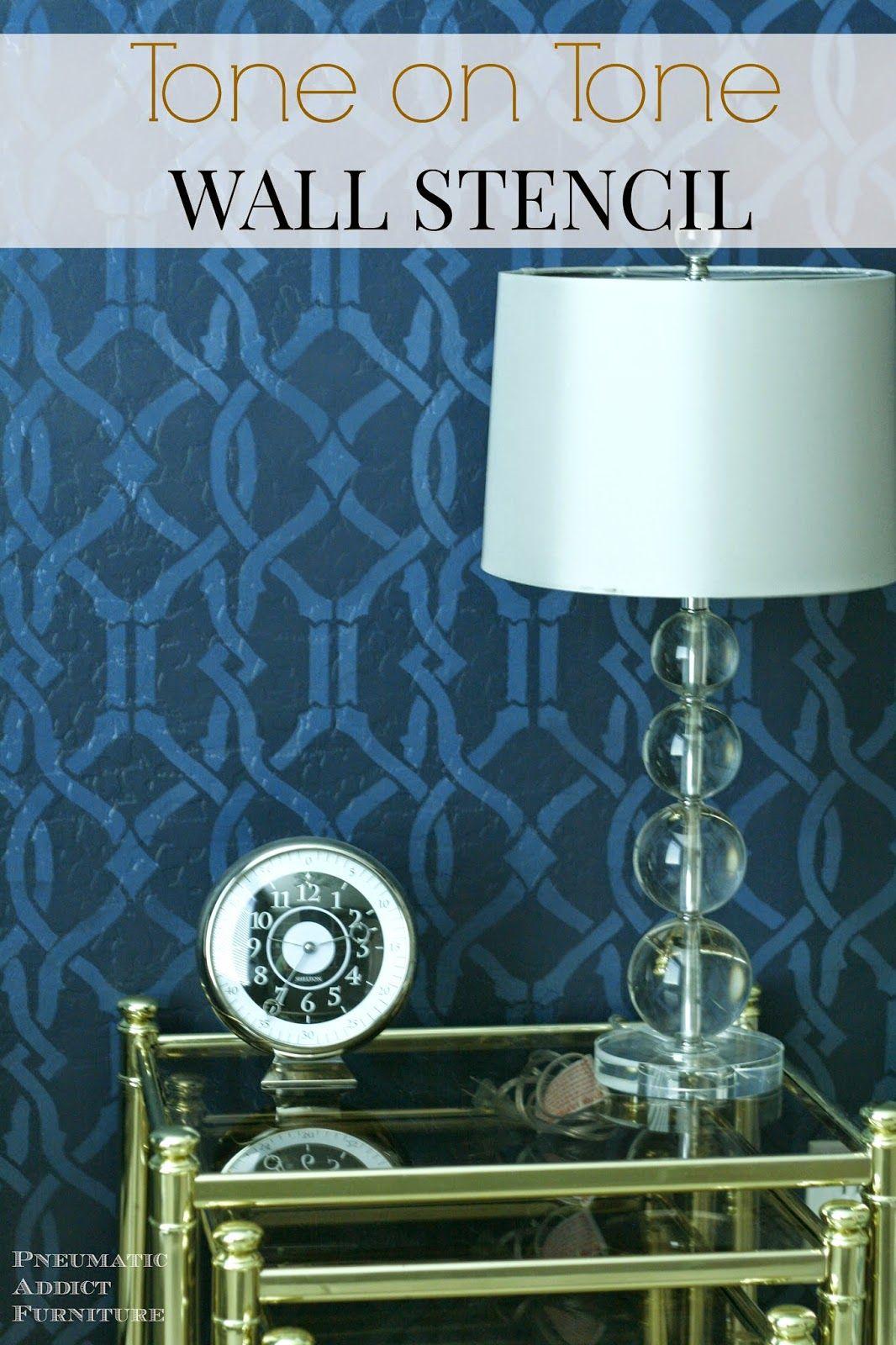 Tone On Tone Painting tone on tone wall stencil   -♥- decor: wondrous walls