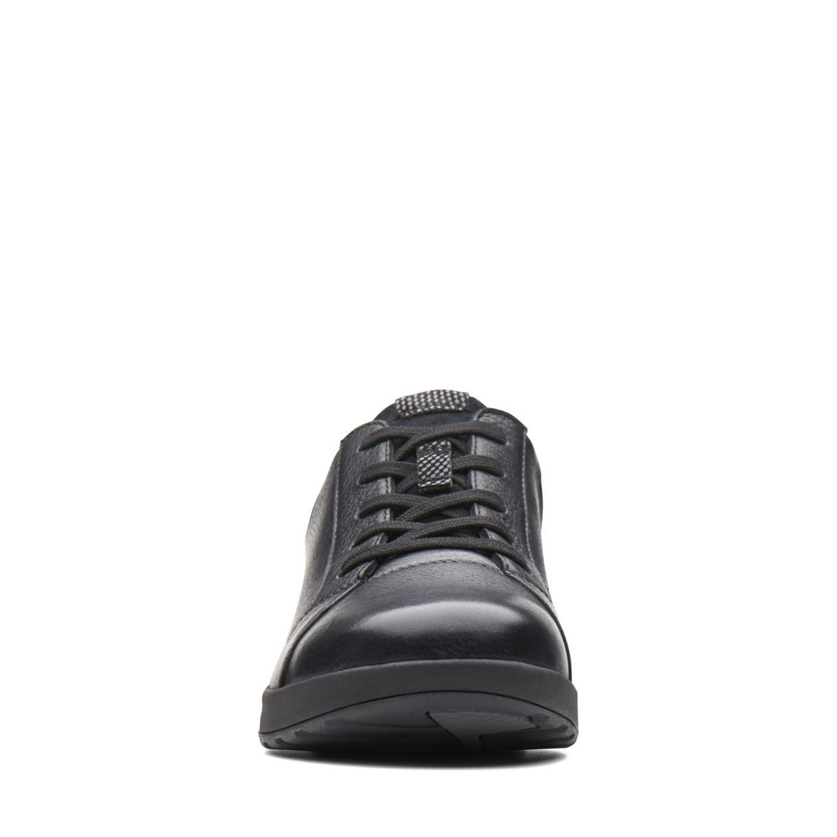 0ac34758665 Clarks Un Adorn Lace - Womens Shoes Black Combination 5 D (Medium)
