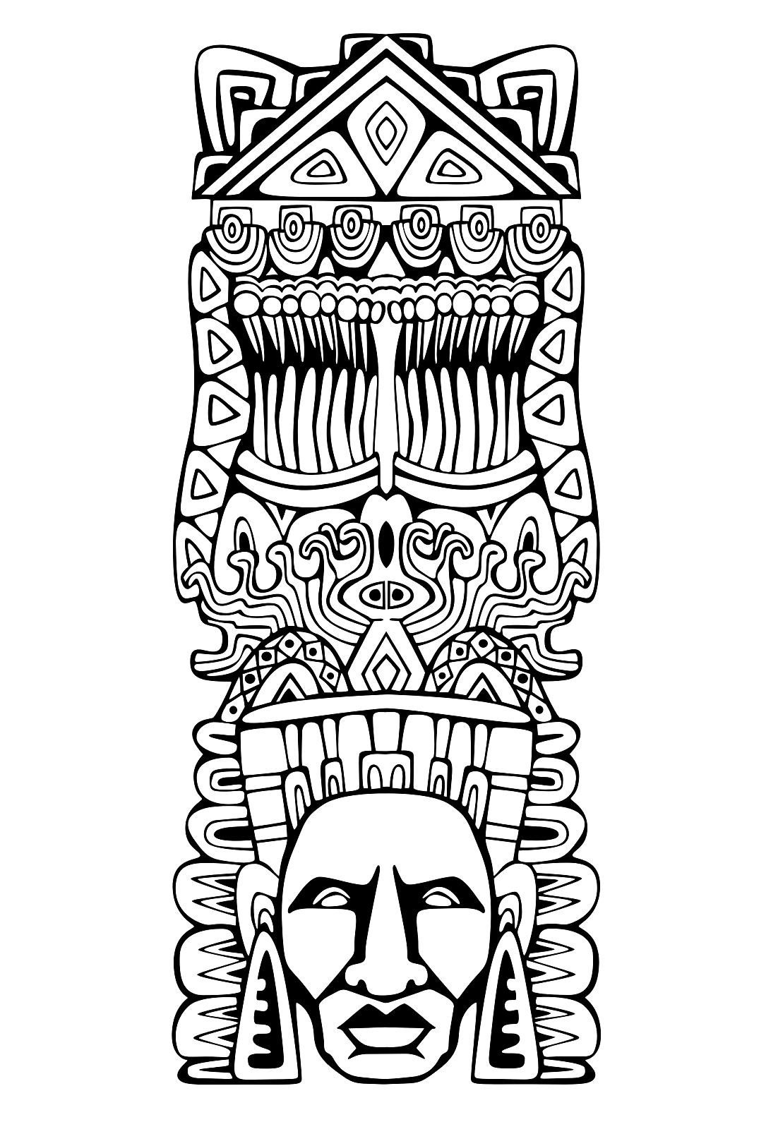 free inca coloring pages - photo#27