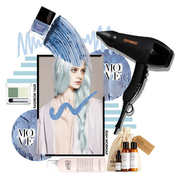 """""""FeelBlue"""" by whatnisa ❤ liked on Polyvore featuring beauty, Sisley, RMK, Butter London, philosophy and amika"""