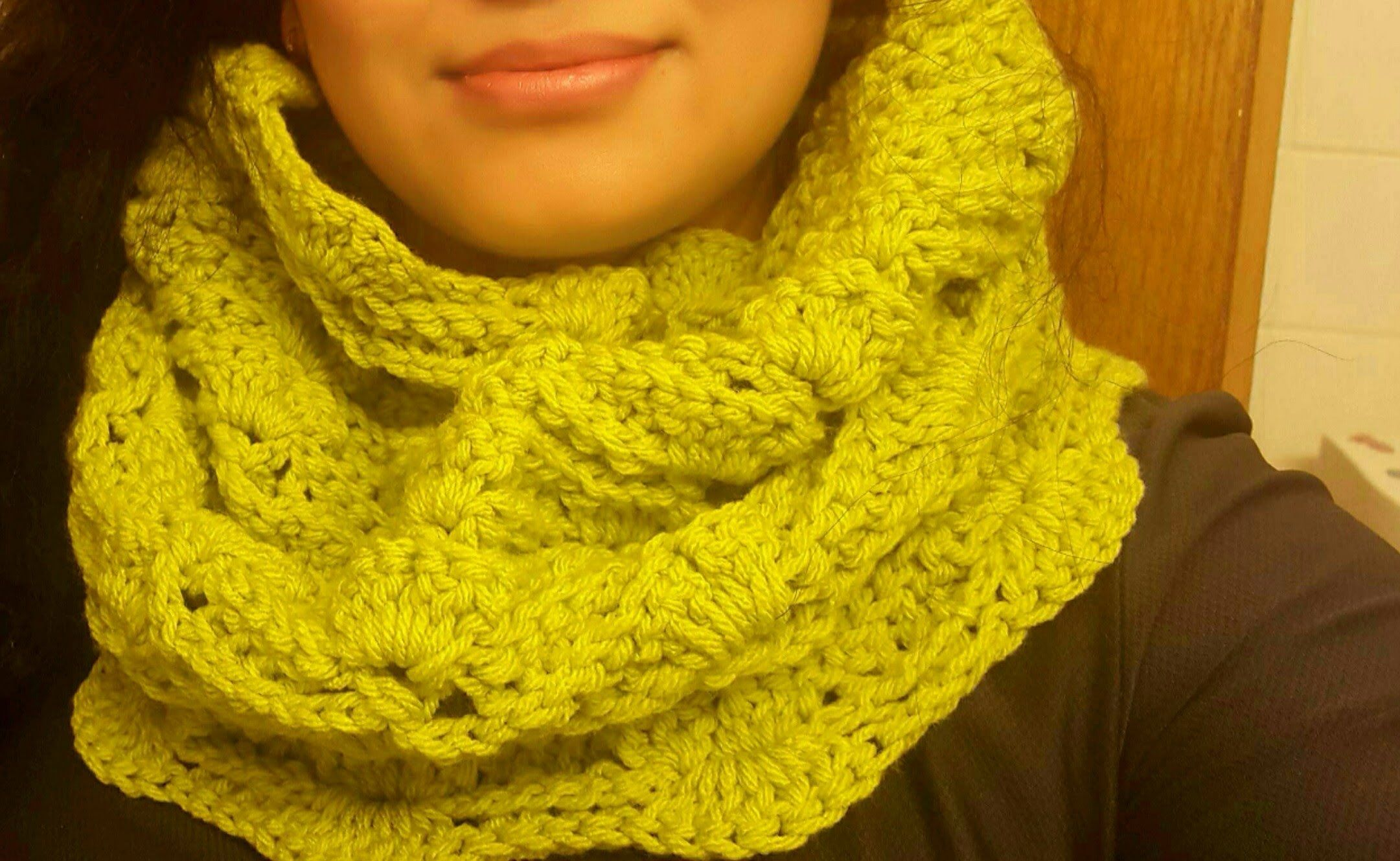 Cuello bufanda tubular en crochet | Chales, ponchos y más :D ...