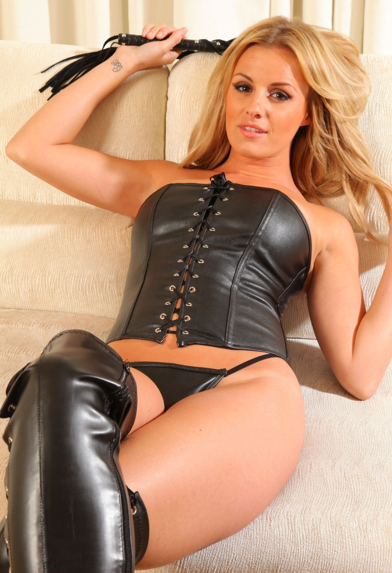 Problem fetish leather boots addition her