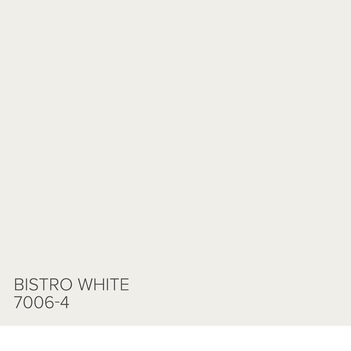 Here S A Tip From Genevieve Gorder Bistro White 7006 4 Is A Bit