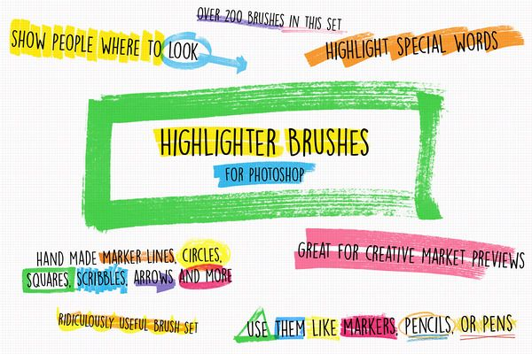 How to highlight text photoshop