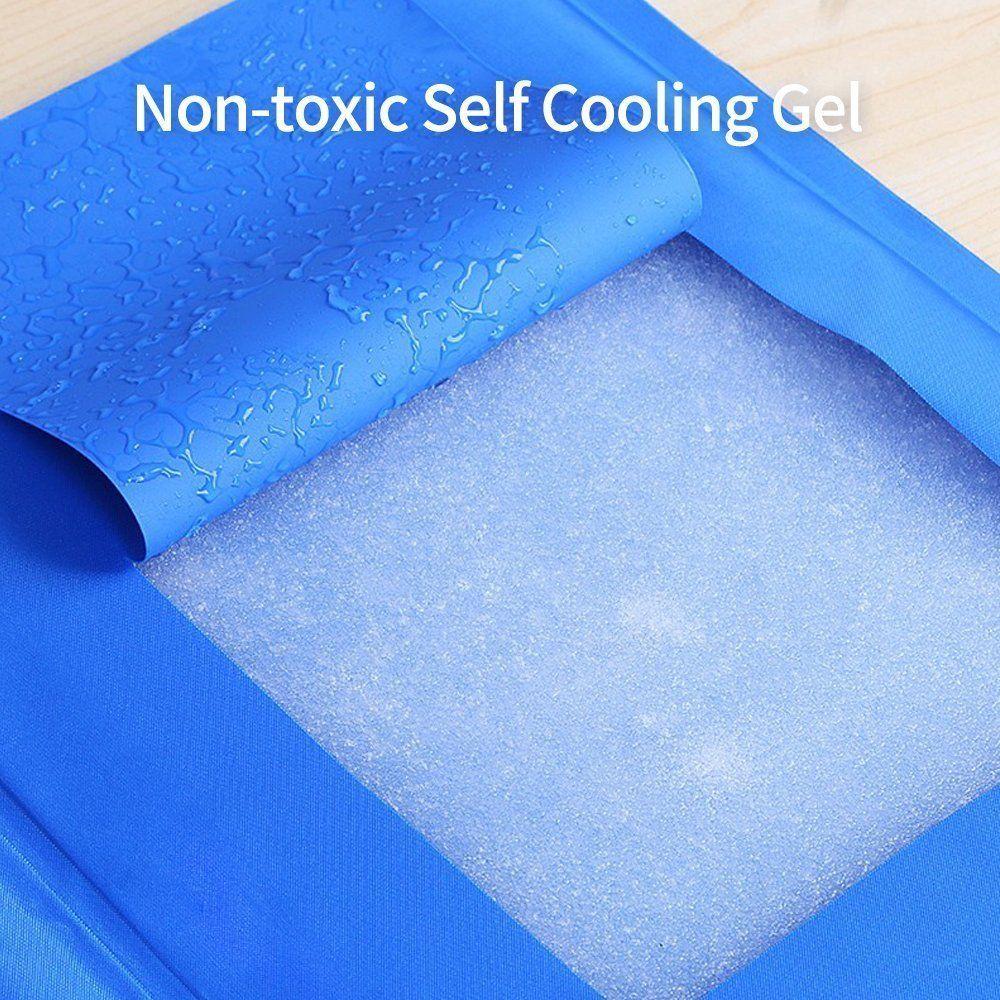Abokeena Pet Self Cooling Mat Pad No Electricity Or Refrigeration