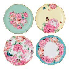 Miranda Kerr for Royal Albert Set of 4 Plates 11cm