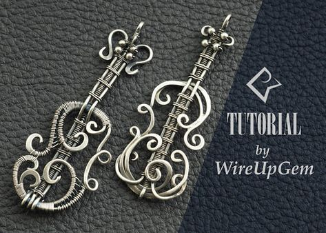 Wire wrap tutorial wire wrapping violin pendant tutorial pdf wire wrap tutorial wire wrapping violin pendant tutorial aloadofball Gallery