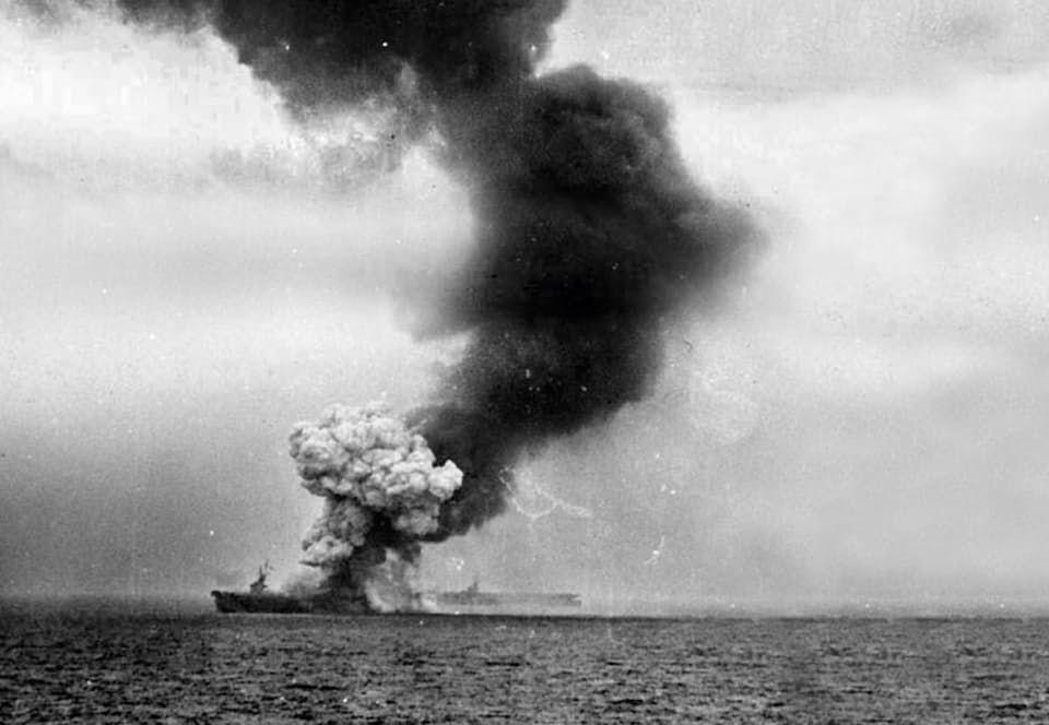Kamikazehyökkäykset saivat alkunsa, kun japanilaisten räjähteillä lastatut lentokoneet törmäsivät lokakuussa 1944 yli 40 yhdysvaltalaislaivaan.
