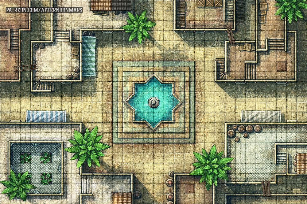Afternoon Maps is creating RPG and DnD battlemaps | Games