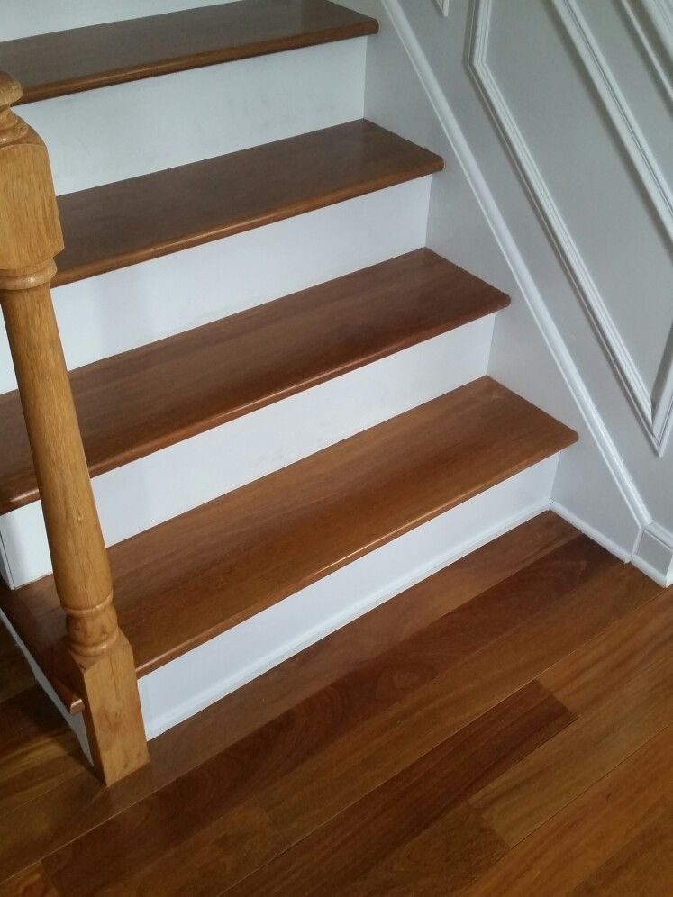 Brazilian Teak Cumaru Stair Treads | Decor ideas | Wood