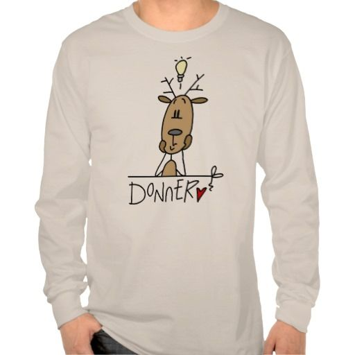 Donner Reindeer Christmas T-shirts and Gifts