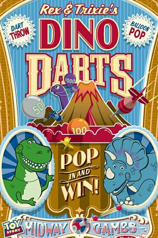 Image result for Rex & Trixie's Dino Darts