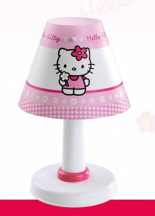Lampe De Chevet Plastique Enfant Une Lumiere Sur Le Theme Hello Kitty Novelty Lamp Hello Kitty Lamp Shade