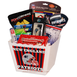 New England Patriots Kids Gift Basket Kids Gift Baskets Nfl Gifts Gifts For Kids