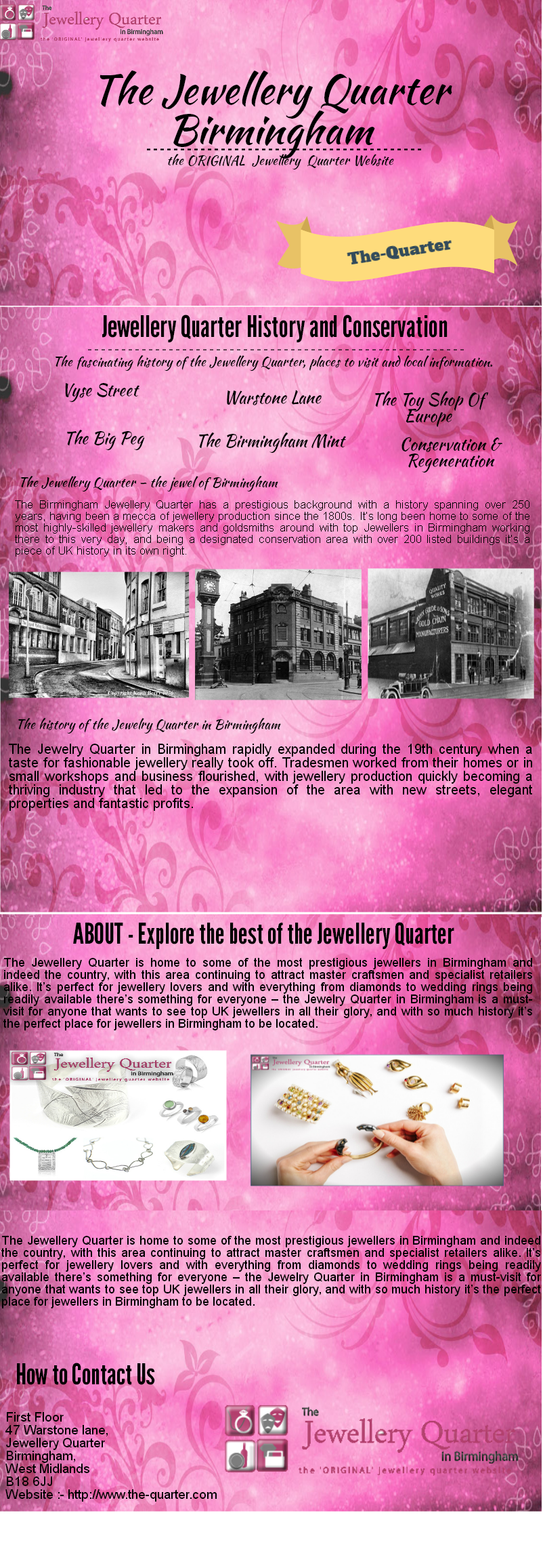 Birmingham\'s jewellery quarter is the best place for jewellery ...