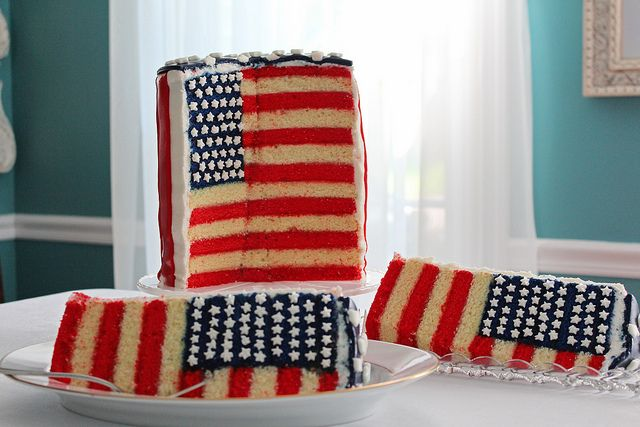 Stars and Stripes - American Flag Cake | Flickr - Photo Sharing!