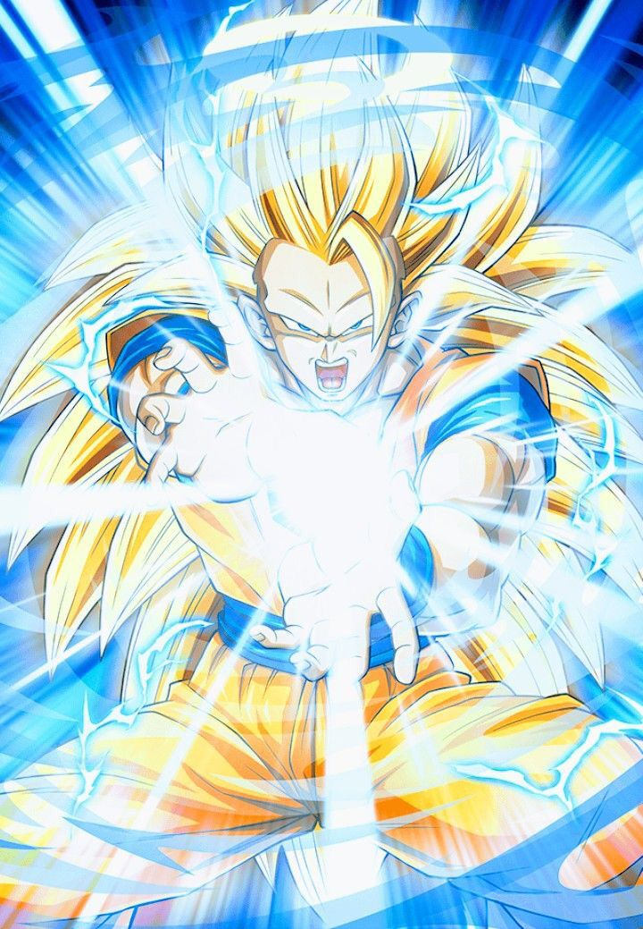 Goku ssj3 kamehameha #goku #gokusupersaiyan3 #gokussj3 # ...