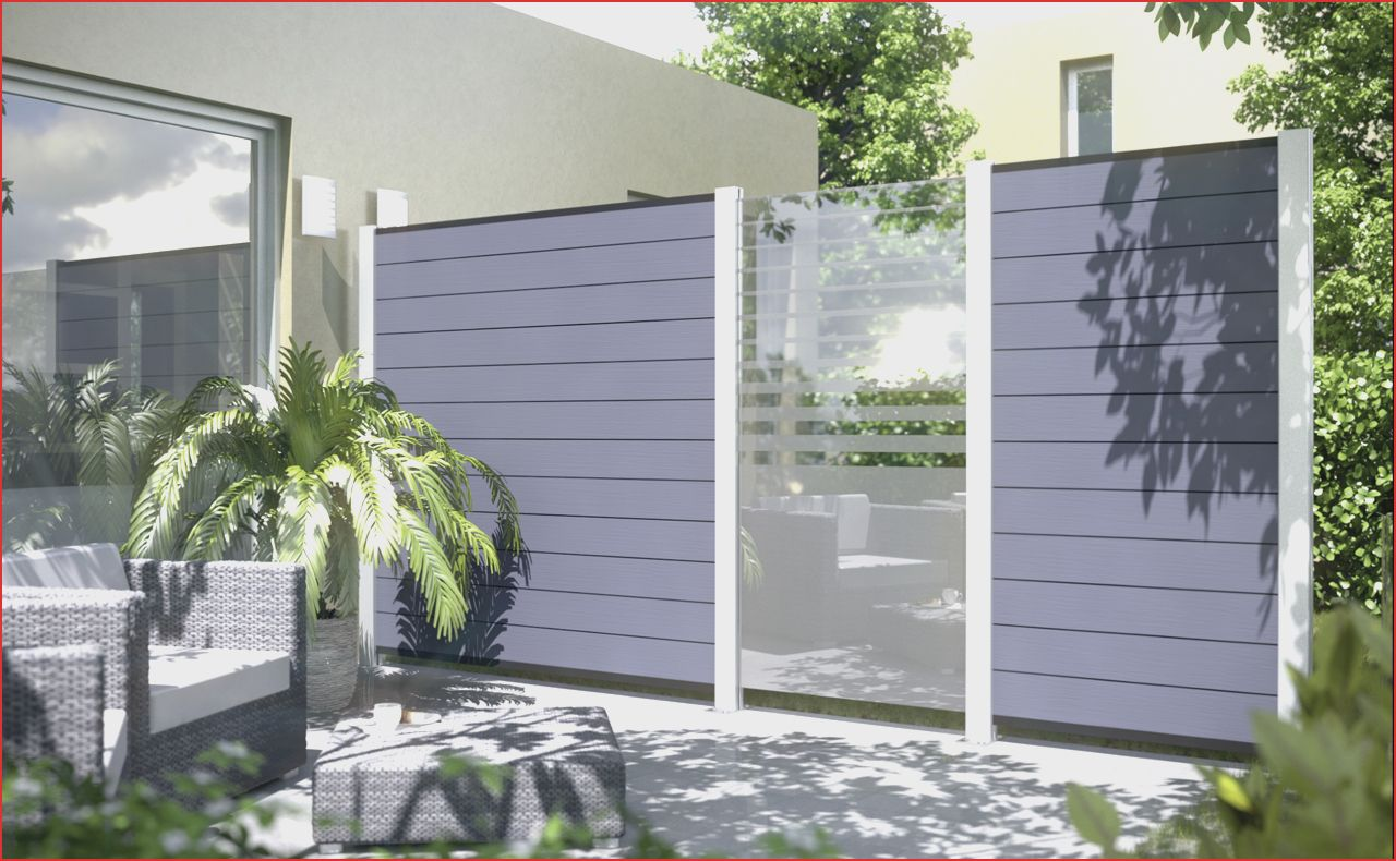 Garten Konzept 30 Luxus Terrassen Sichtschutz Glas O99p Mit