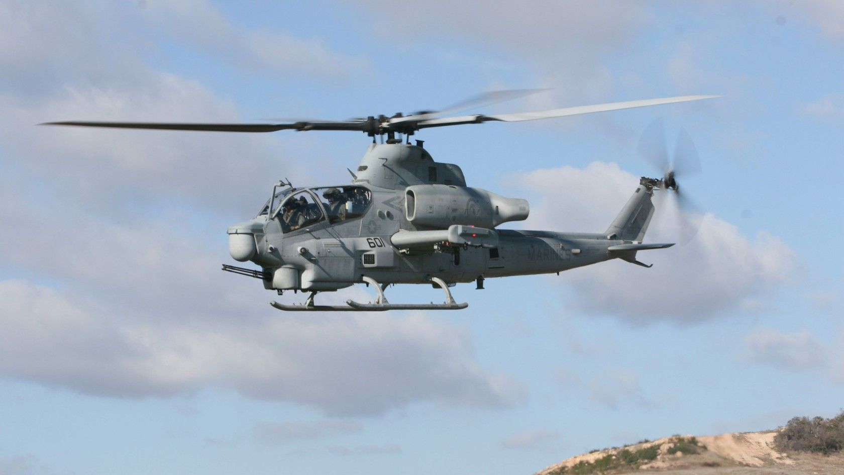AH-1 Cobra Gunship