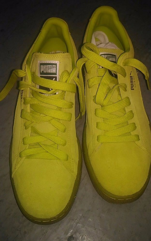 Men's Puma Suede Classic Lime Green