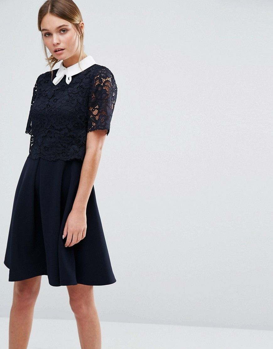 c31504e4529959 ... Ted Baker Dixxy Lace Double Layer Dress new cheap 5515f 4db89 ...