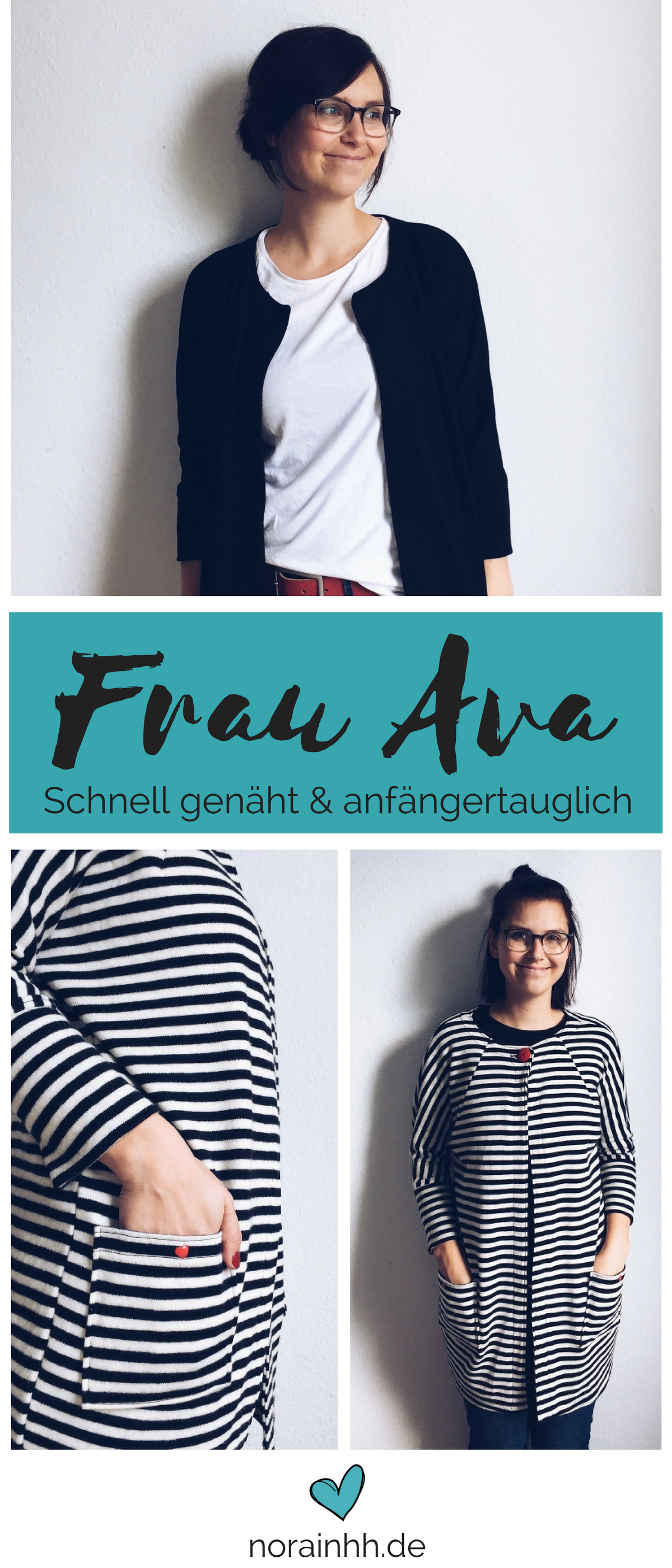 Strickjackenliebe - Frau Ava von Hedinäht | Ava