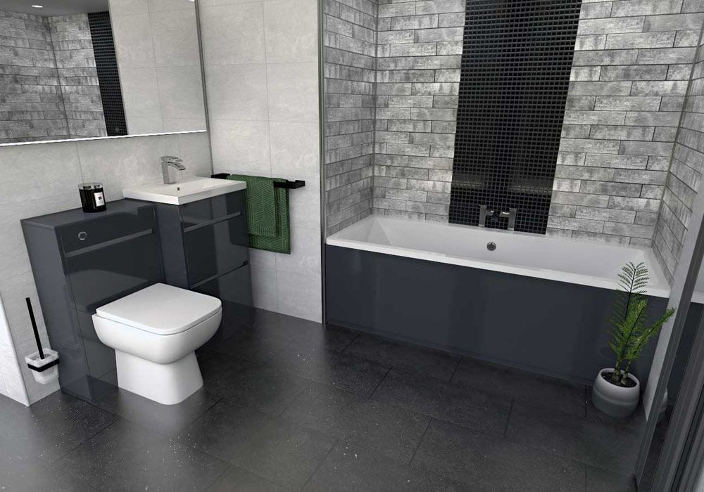 Madrid Bathroom Suite Dream Bathrooms Black Bathroom Furniture