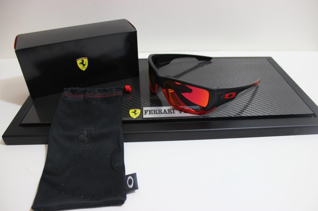 16c9ea90f2  Ferrari  Oakley  Style  Switch  Sunglasses  Ruby  Iridium  Lens   OakleyForum  WhichIsFaster