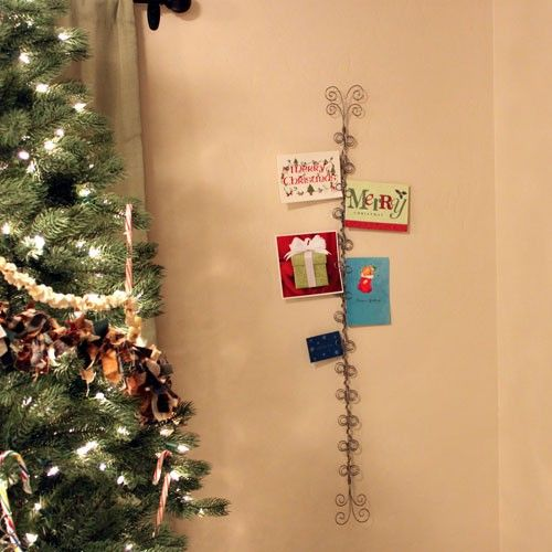 MAKE WITH XMAS TREE AT TOP U003d 4 Foot Holiday Card Holder By LadybugWireworks  On Etsy