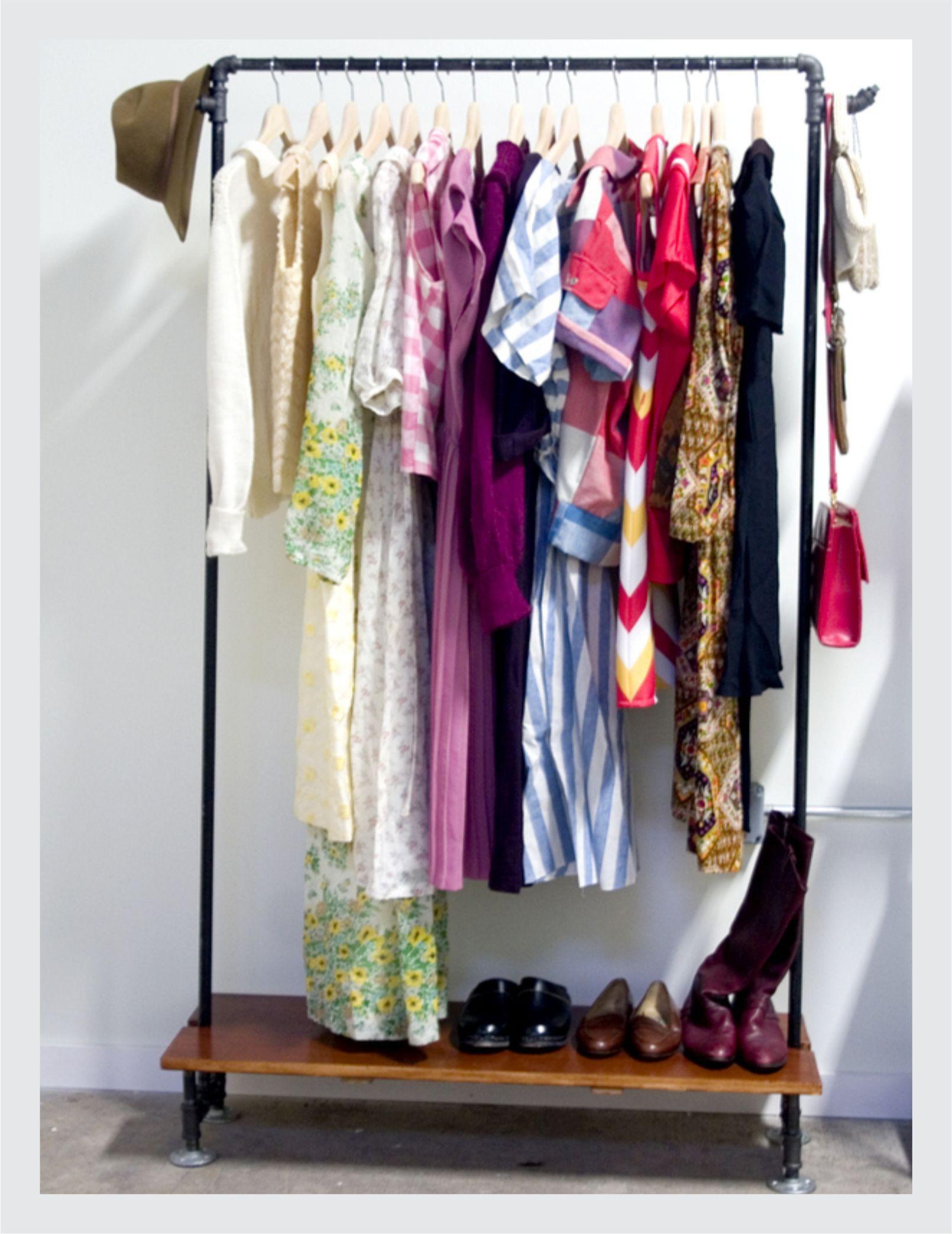 Adesivo De Espelho ~ 3 15 truques para organizar armario pequeno sos solteiros Decoraç u00e3o Pinterest Armários