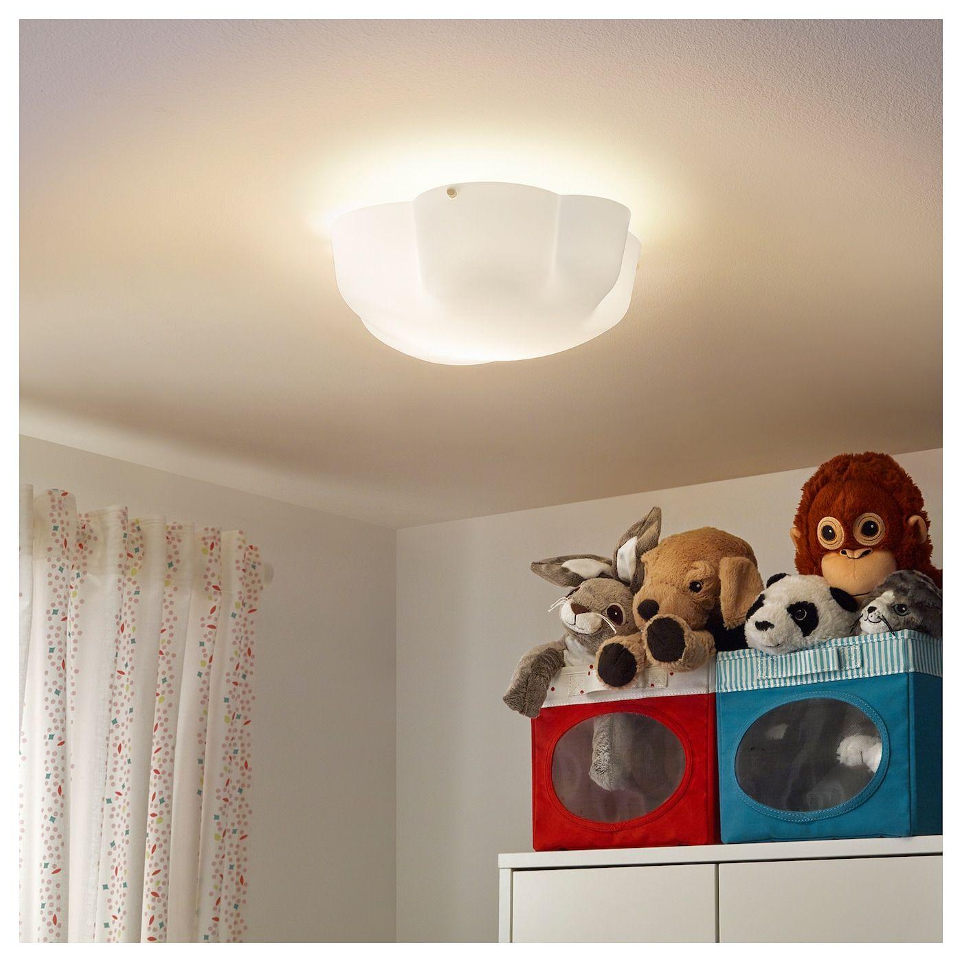 Ikea Yllesta Ceiling Lamp White Plafonnier Ikea Et Plafond