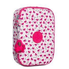55b2d796e Estojo 100 Pens Branco e Rosa Pink Wings Kipling | Kipling | Pencil ...