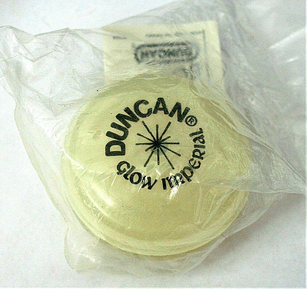 Vintage 1989 Imperial Duncan Rice Krispies Glow-In-The-Dark Yo-Yo SEALED