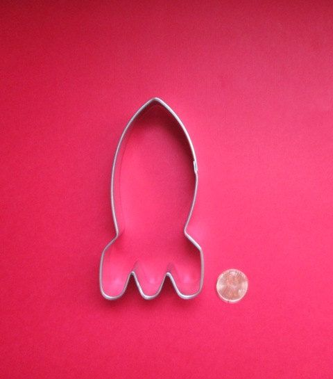 Rocket Cookie Cutter  Space Cookie Cutter  by DIYSweetSupplyCo, $0.98