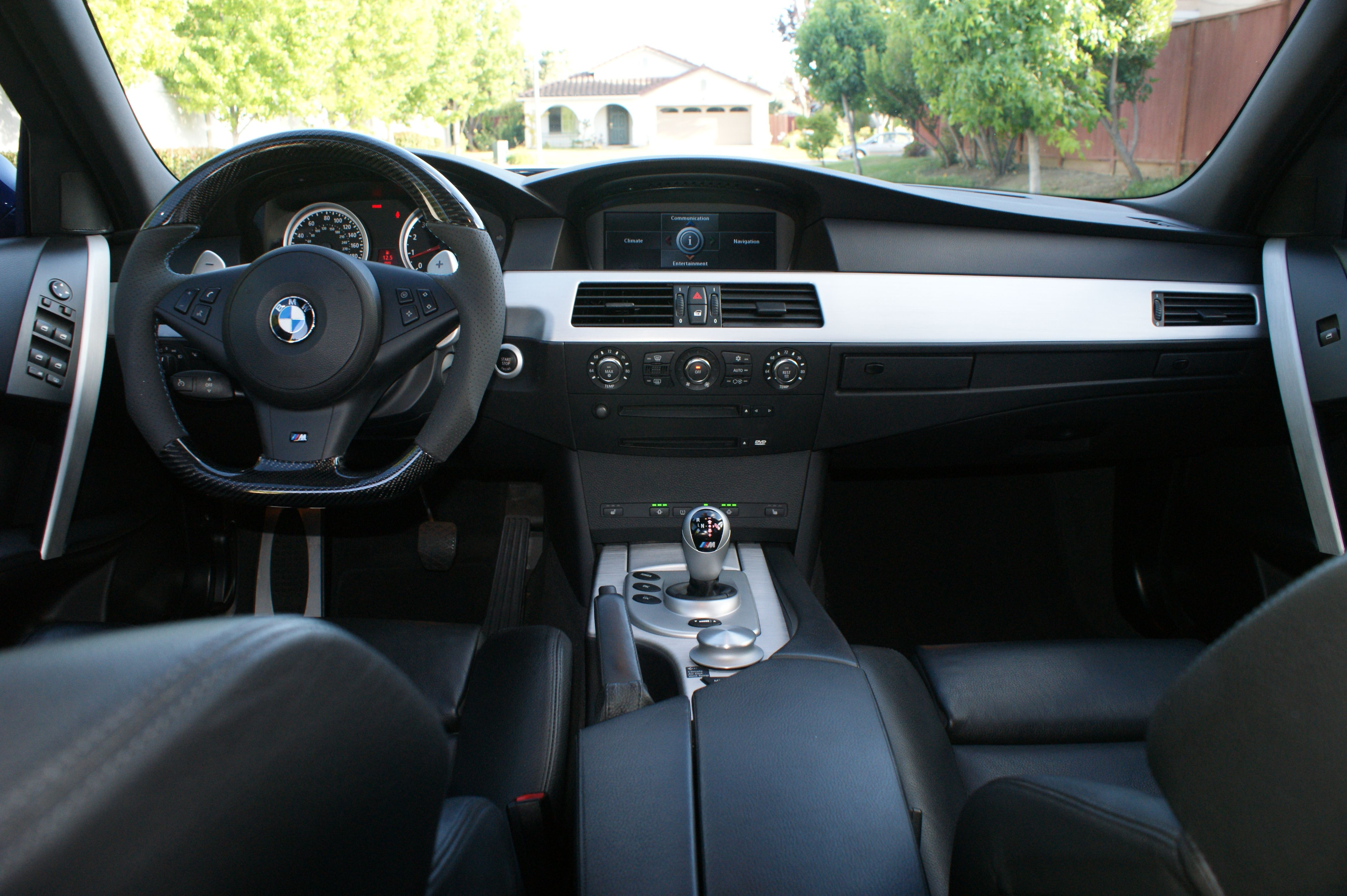 BMW E60 ///M5 Interior 5 Series (20032010) BMW 5 Series
