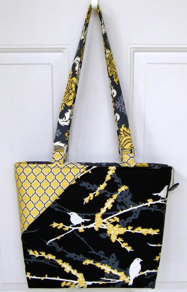 My Candice Handbag By Lazy Designs Fabrics Joel Dewberry
