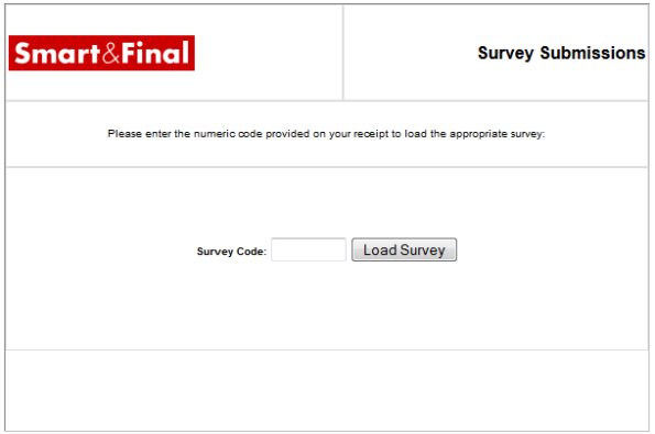 Smart  Final Customer Satisfaction Survey WwwSmartandfinalCom
