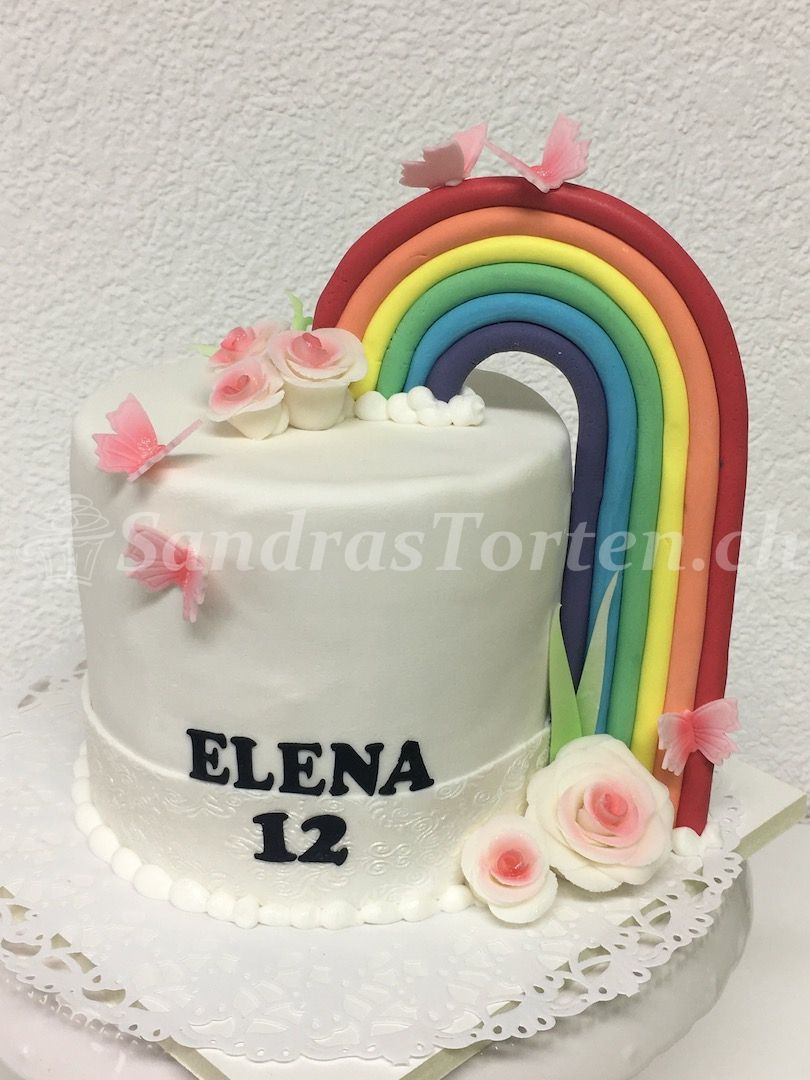 Mit am Regaboga dr 12ti Geburtstag fiira. Happy Birthday Elena