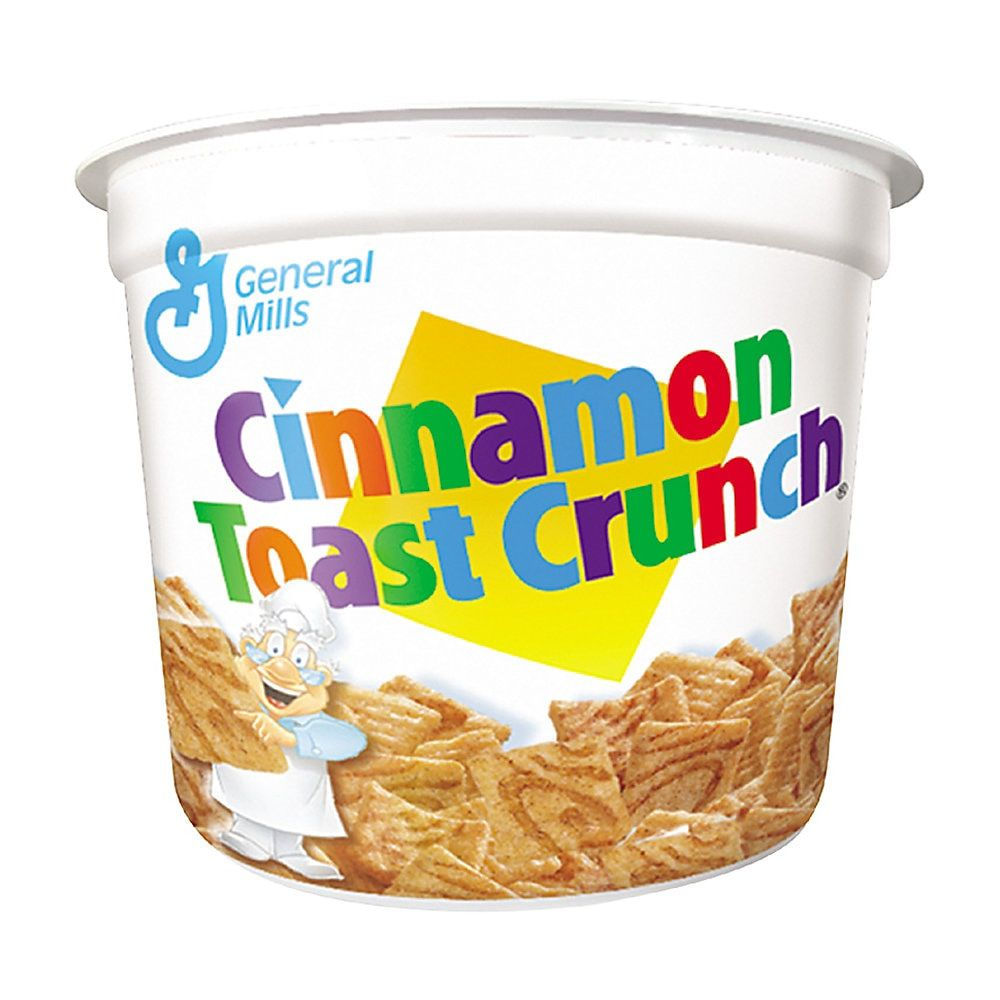 Cinnamon Toast Crunch Cereal, Single-Serve 2.0oz Cup, 6/Pack #cinnamontoastcrunch