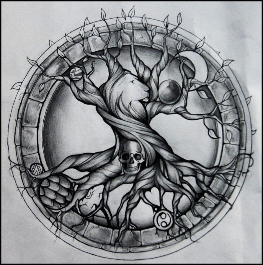 Tattoo Spirit: 50 Ideen für Lebensbaum Tattoo | Tattoo designs and ...