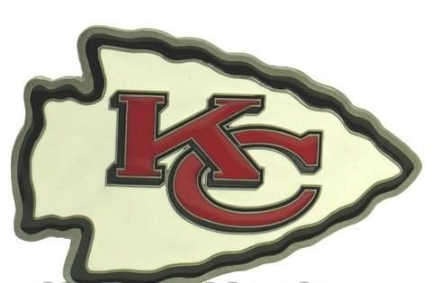 Kansas City Chiefs Logo Belt Buckle