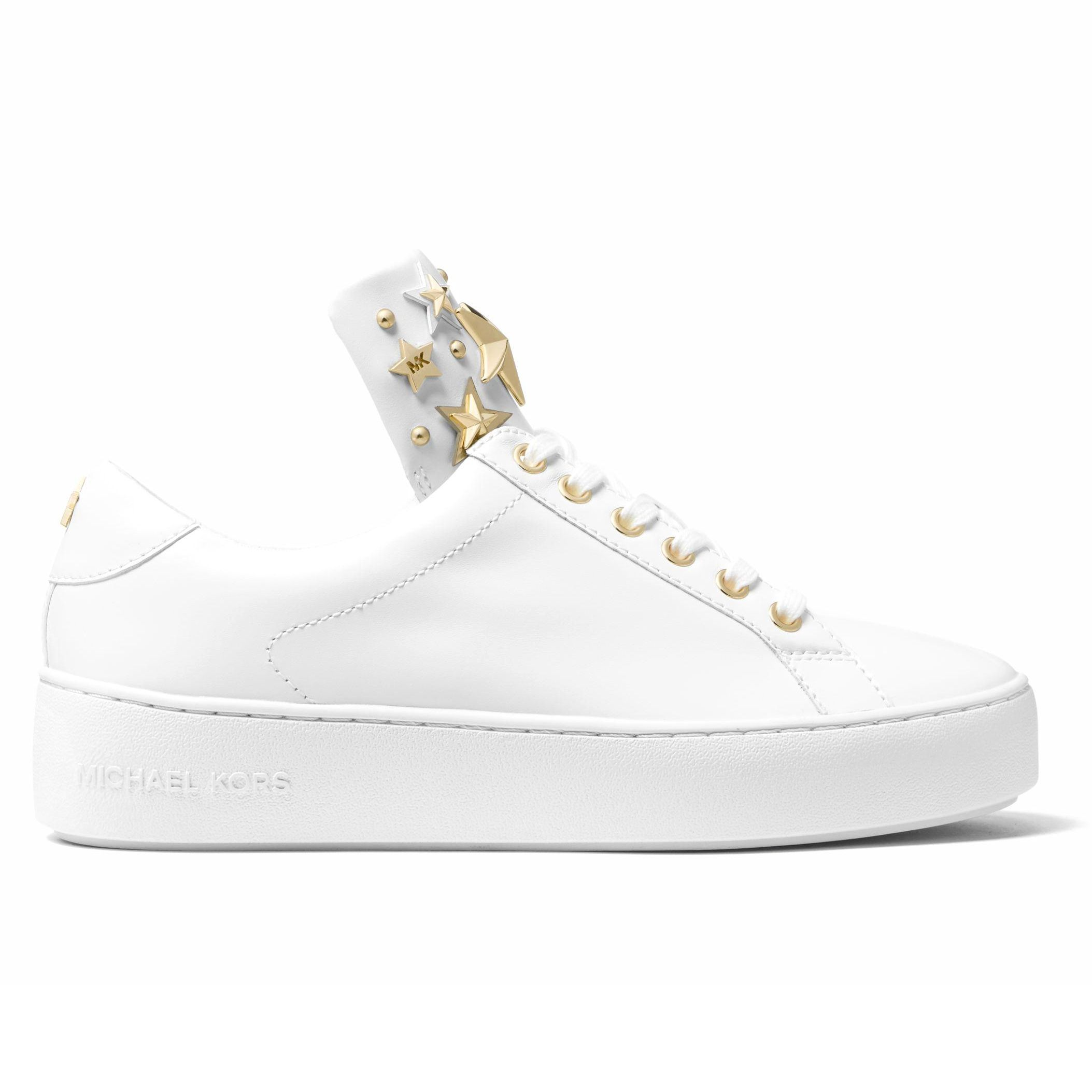 6055f331ba24d6 Sneakers Michael Kors Mindy bianche con stelle oro | sangiorgiomerate.it