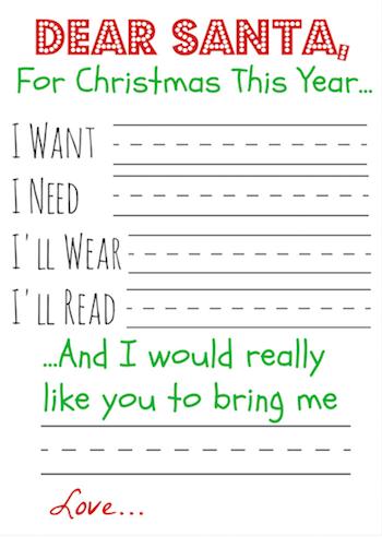 Black Friday Santa Letter Christmas Lettering Christmas Kindergarten