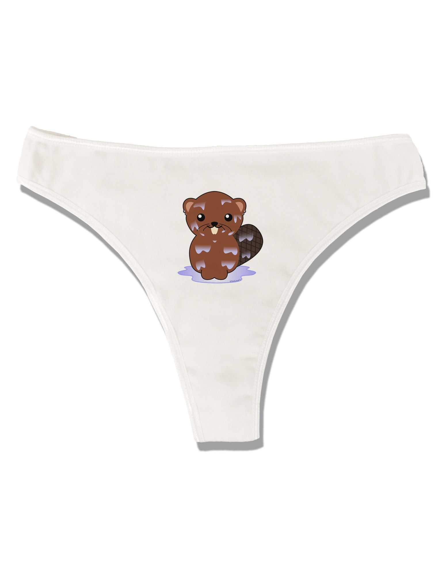 Cute Wet Beaver Womens Thong Underwear | Underwear, Printing and ...